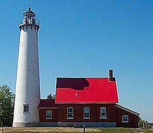 Iosco County, Michigan - Image: Tawas Point Light 2