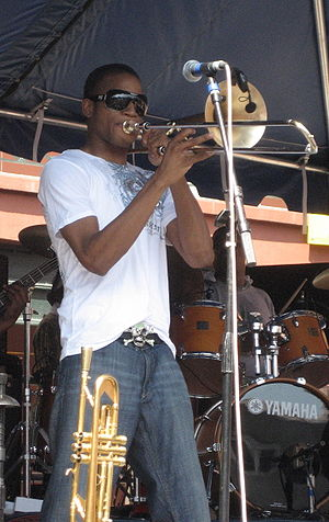 "Troy ""Trombone Shorty"" Andrews with ..."