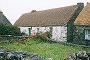 Synge's cottage on Inishmaan, now turned into a museum