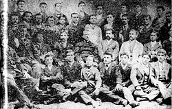 Teachers and Students in the Kyustendil Pedagogical School, 1894.jpg