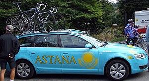 Astana Pro Team - 2008 team car