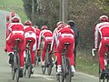 Team Katusha, Paris-Nice 2012, Stage 1.jpg