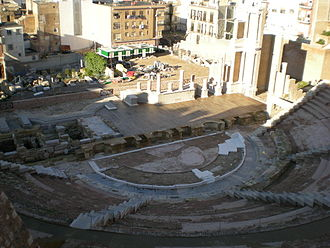 Roman theatre, Cartagena - The Roman Theatre of Cartagena.