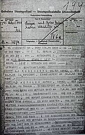 Auschwitz concentration camp - Wikipedia