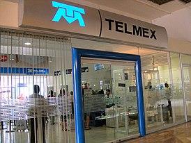 A Telmex retail store