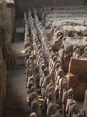 Mausoleum of the First Qin Emperor - The Terracotta Warriors