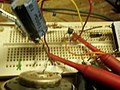 Testing an amplifier for gain.JPG