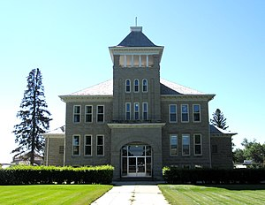 Choteau, Montana - County Courthouse in Choteau