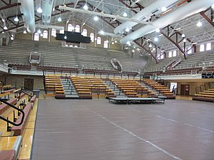 Gregory Gymnasium -  Gregory Gym Interior, 2016