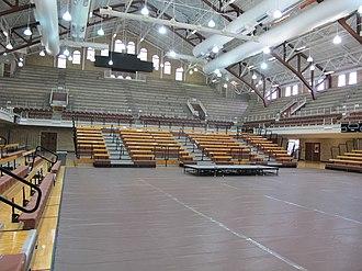Gregory Gymnasium - Gregory Gym Interior, 2016