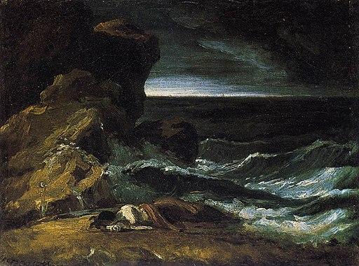 Théodore Géricault - The Wreck - WGA08638