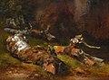 Théodore Rousseau-Etude de troncs d'arbres.jpg