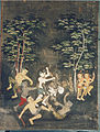 Thai - Vessantara Jataka, Chapter 11 - Jujaka Beset by Villagers - Walters 20101226.jpg
