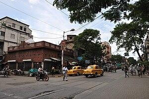Bidhan Sarani - Image: Thanthania Kalibari Kolkata 7422
