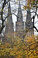 The 3 spires of St Mary's Episcopal Cathedral in Autumn.jpg