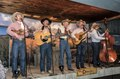 The Bar D Wranglers, a sometimes-comedic western-music quartet, performs at the Bar D Chuckwagon stage show following a barbecue supper in Durango, Colorado LCCN2015632616.tif