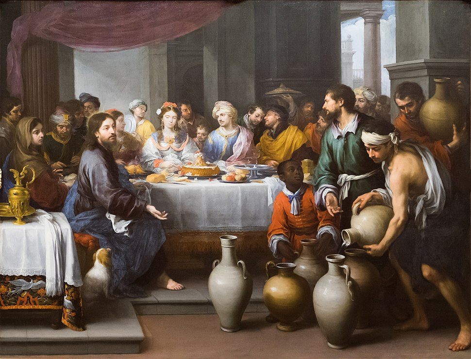 The Barber Institute of Fine Arts - Bartolom%C3%A9 Esteban Murillo - The Marriage Feast at Cana