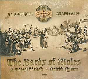 Karl Jenkins - Album cover of The Bards Of Wales (2012)
