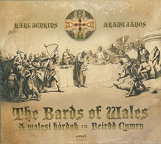 The Bards of Wales - Album cover of The Bards Of Wales by Karl Jenkins (2012)