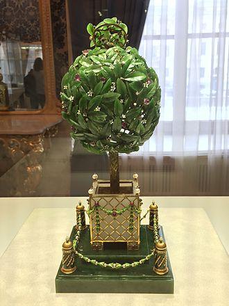 Bay Tree (Fabergé egg) - Image: The Bay tree egg