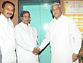 The Chief Minister of Karnataka, Shri Siddaramaiah calls on the Union Minister for Coal, Shri Sriprakash Jaiswal, in New Delhi on June 25, 2013.jpg