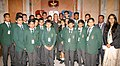 The Chief of Army Staff, General Bipin Rawat with the students of DPS, Raigarh, Chhattisgarh, in New Delhi on July 03, 2018.JPG