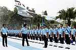 The Chief of the Air Staff, Air Chief Marshal B.S. Dhanoa inspecting the guard of honour, during the WAC Station Commanders' Conference 2018, at HQ Western Air Command, in New Delhi on November 01, 2018.JPG