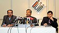 The Director General, Election Commission of India, Shri. Akshay Rout briefing the media on the 4th National Voters' Day (NVD), organised 9 lakh polling stations across country, in New Delhi on January 24, 2014.jpg