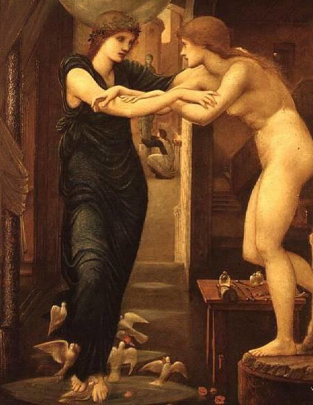 The Godhead Fires, Pygmalion (Burne-Jones)