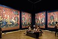 The Lady and the Unicorn Tapestries, Paris 9 July 2015.jpg