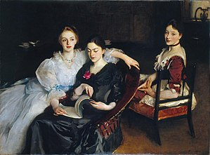 The Misses Vickers - Image: The Misses Vickers John Singer Sargent 1884