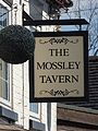 The Mossley Tavern - Armitage Road and The Mossley, Rugeley - pub sign (34439920341).jpg