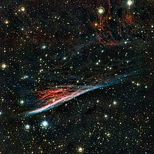 The Pencil Nebula, a strangely shaped leftover from a vast explosion.jpg