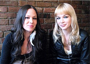 The Pierces - The Pierces, Allison (left) and Catherine (right) in 2008
