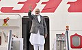 The Prime Minister, Shri Narendra Modi emplanes for Philippines to attend the ASEAN-India and East Asia Summits, in New Delhi on November 12, 2017.jpg