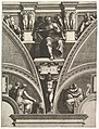 The Prophet Joel; from the series of Prophets and Sibyls in the Sistine Chapel MET DP821553.jpg