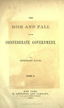 The Rise and Fall of the Confederate Government, v2.djvu