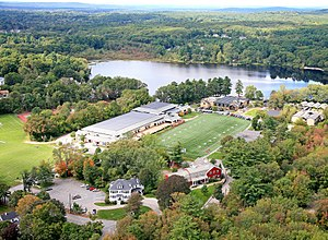 Rivers School - The Rivers School campus in Weston, Massachusetts