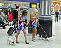 The Royal Wedding - Apr 2011 - Patriotic Party Goers at Victoria Station (5684372003).jpg