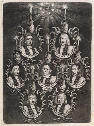 Seven Bishops - The Seven Bishops Committed to the Tower in 1688 by John Smith