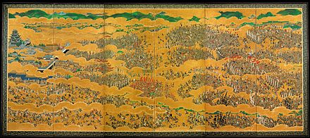 December 4: Start of the Siege of Osaka The Siege of Osaka Castle.jpg