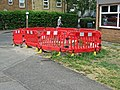 The Stow, Harlow, Essex, England - plastic barriers.jpg