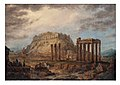 The Temple of the Olympian Zeus and the Acropolis in Athens in 1830.jpg