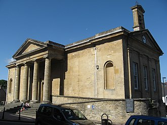 Chipping Norton - Chipping Norton Town Hall, built in 1842