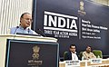 The Union Minister for Finance, Corporate Affairs and Defence, Shri Arun Jaitley addressing at the release of the NITIs Three Year Action Agenda, in New Delhi.jpg