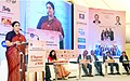 The Union Minister for Textiles, Smt. Smriti Irani addressing at the 31st Regional Conference of Western India Regional Council the Institute of Charted Accounts of India, in Mumbai on December 10, 2016.jpg