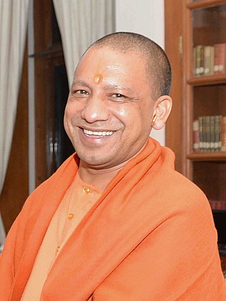 Yogi Adityanath - (born Ajay Mohan Bisht; 5 June 1972) is an Indian monk and Hindu nationalist politician serving as the 22nd and current Chief Minister of Uttar Pradesh, in office since 19 March 2017.  IMAGES, GIF, ANIMATED GIF, WALLPAPER, STICKER FOR WHATSAPP & FACEBOOK