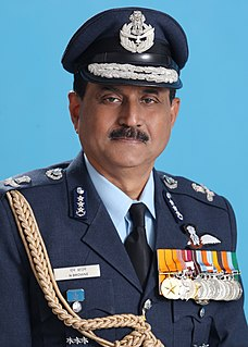 Norman Anil Kumar Browne former chief of the Indian Air Force