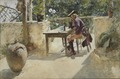 The Vine (Carl Larsson) - Nationalmuseum - 24342.tif