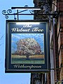 The Walnut Tree, Wetherspoon pub sign in Leytonstone, London, England.jpg